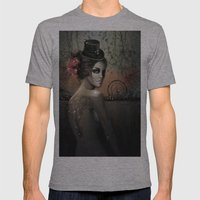 Dawn in Autumn Mens Fitted Tee Athletic Grey SMALL