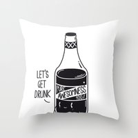 Pure Awesomness Throw Pillow