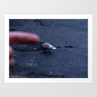 Pigeon Points. Art Print