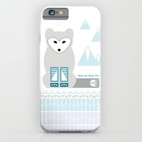 iPhone & iPod Case featuring Kettu the Arctic Fox by Michelle Reaney