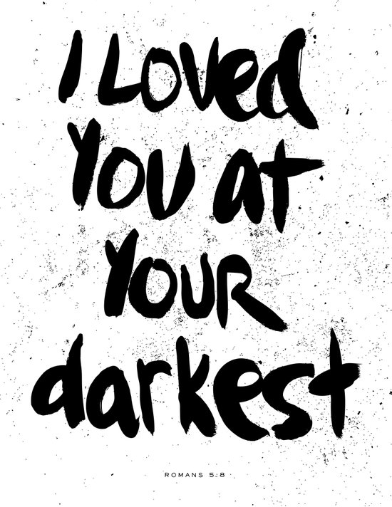 """I loved you at your darkest"" Canvas Print"