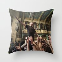 Rise Against Throw Pillow