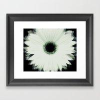 Into The Flower Framed Art Print
