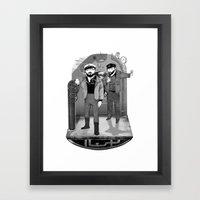 U-boat  Framed Art Print