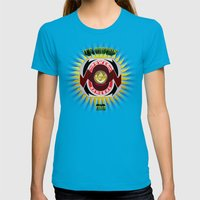 It's Morphin' Time - Green Ranger Womens Fitted Tee Teal SMALL