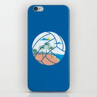 Beach Volleyball iPhone & iPod Skin