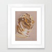 FACE/oFF Framed Art Print