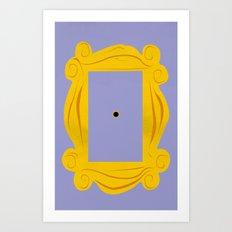 Friends Door Frame Art Print