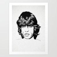 M. J. 02 Art Print