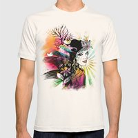 Colorful Nature Mens Fitted Tee Natural SMALL