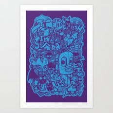 All Day Doodle Art Print