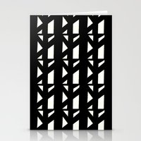 Marsman Black & White Pattern Stationery Cards