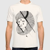 Elephant Gun Mens Fitted Tee Natural SMALL