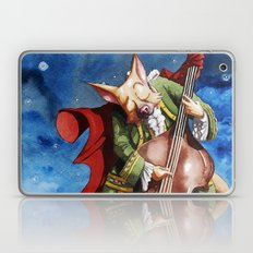 Feline counter bassist Laptop & iPad Skin
