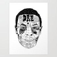 Dr Dre Art Print