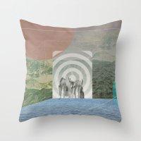 Atmosphere 28 · Inside Throw Pillow