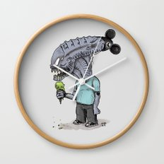 Happiest Space On Earth Wall Clock
