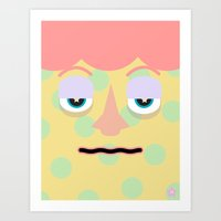 Dotty Magic Art Print