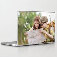 moonrise kingdom Laptop & iPad Skins featuring MOONRISE KINGDOM by VAGABOND