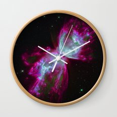 Space Winds Wall Clock