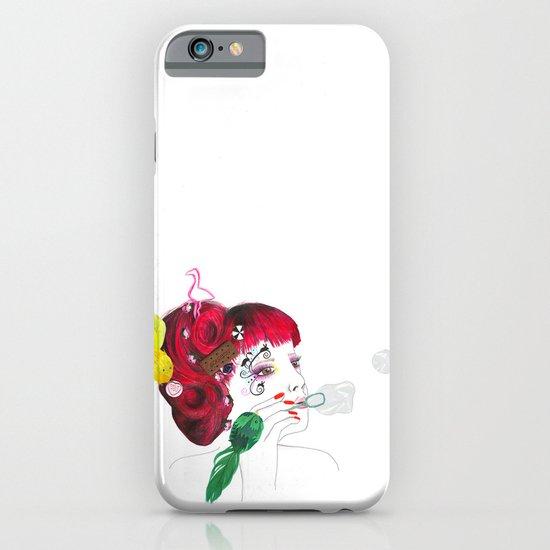 Bubble girl iPhone & iPod Case