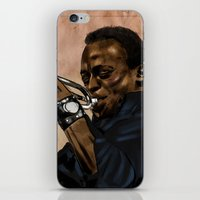 Miles, jazz will never be the same iPhone & iPod Skin