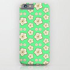 Flower Pattern Slim Case iPhone 6s