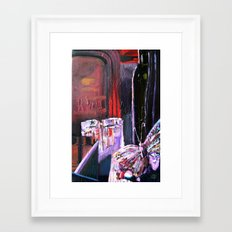 A Series of Wedding Dancer Still-Life Paintings 3. Framed Art Print