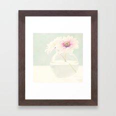 Soft flower. Framed Art Print