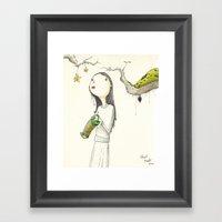 Accordion Framed Art Print