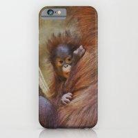 Orangutan Baby iPhone 6 Slim Case