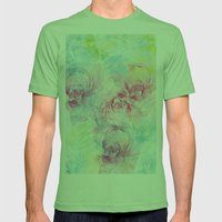 Summer Craziness 1 Mens Fitted Tee Grass SMALL