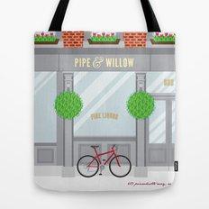 Pinwhistle Way Faccade Tote Bag