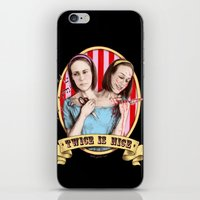 Tattler Twins (color) iPhone & iPod Skin