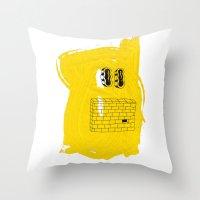 EYEZ II Throw Pillow