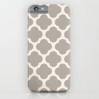 Gray Clover iPhone 6 Slim Case