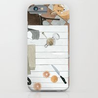 Breakfast and Fox iPhone 6 Slim Case