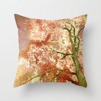 Majestic Tree Throw Pillow