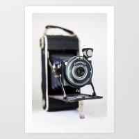 Gratuitous Retro Camera Pic  Art Print