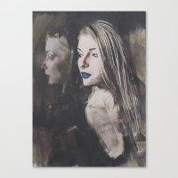 Echo Gothic Canvas Print