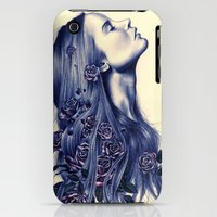 iPhone 3Gs & iPhone 3G Cases featuring Bloom by KatePowellArt