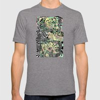 SPRING CYCLE Mens Fitted Tee Tri-Grey SMALL