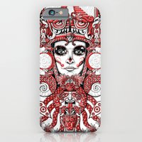 Red Serpent Queen iPhone 6 Slim Case