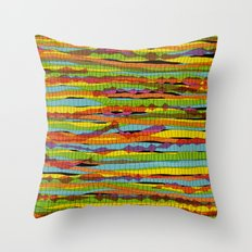 patterns - spaghettis 1 Throw Pillow