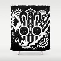 Neleus Shower Curtain