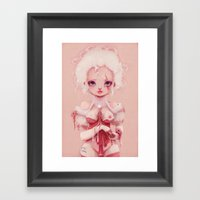 No Pink Anymore... Framed Art Print