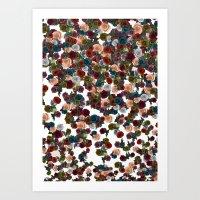mini floral Art Print