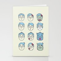 Monster Mash Up Stationery Cards