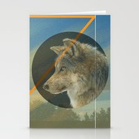 Man to Wolf Stationery Cards