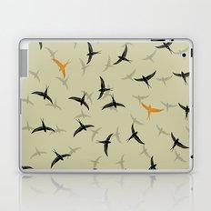 spiral birds Laptop & iPad Skin